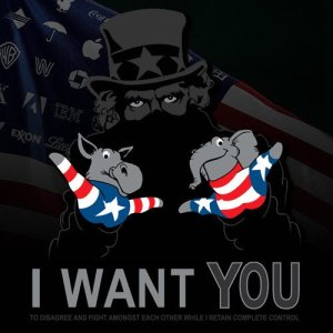 We Want You - Stay Scared - Go Shopping - Sheeple