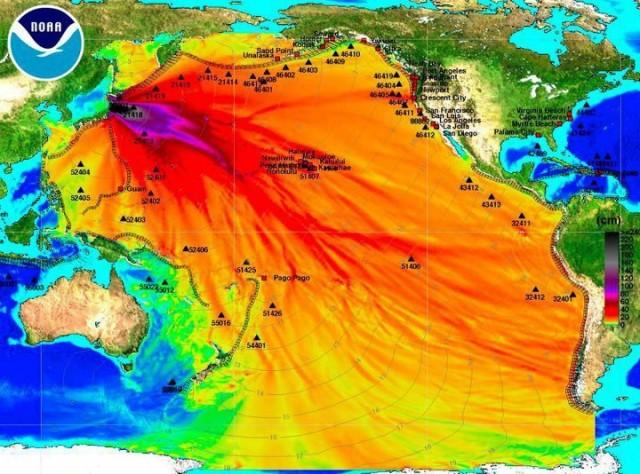 Fear Porn - Fukushima tsunami map, not cesium-137