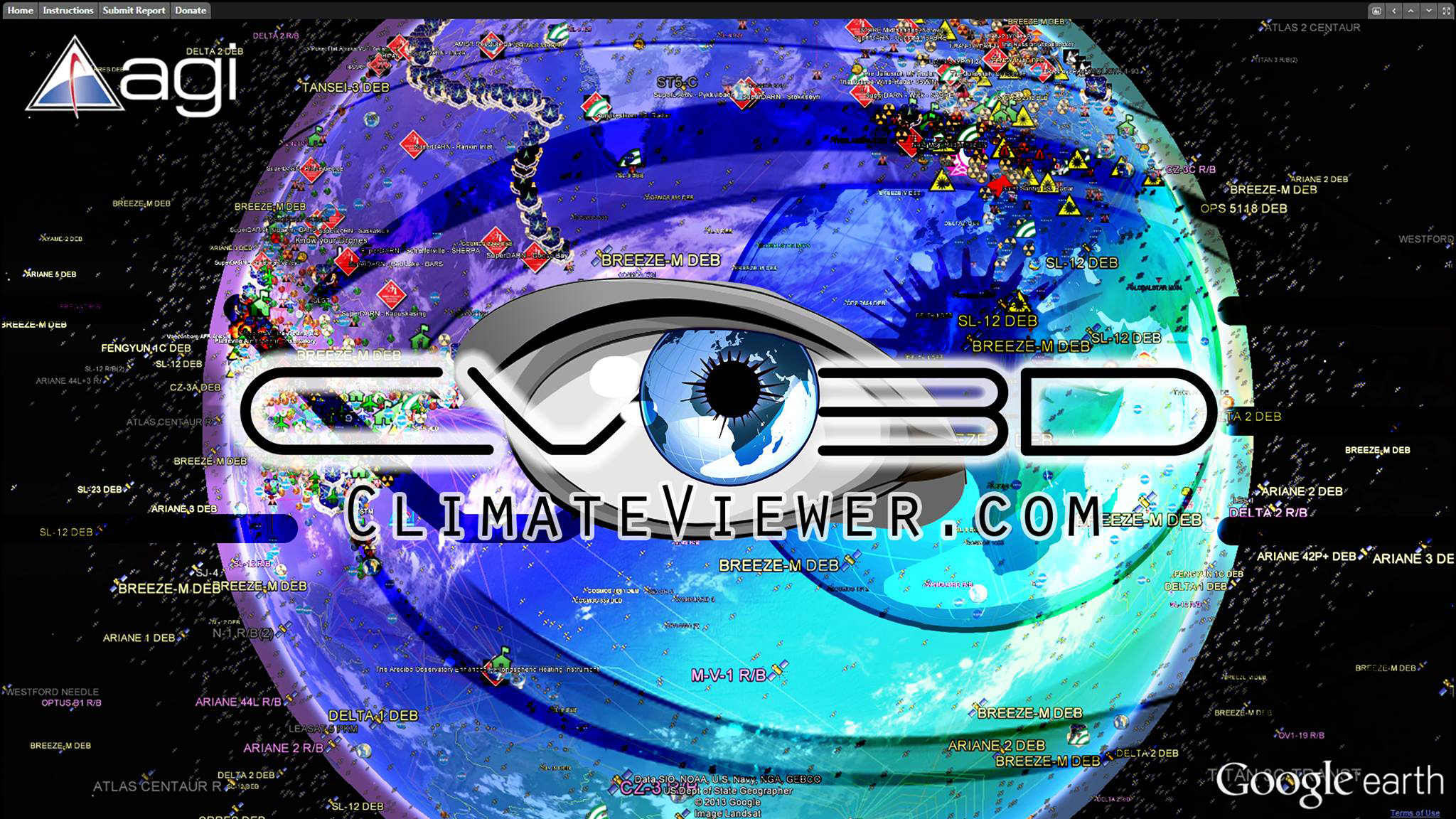 Climate Viewer 3D, Google Earth Climate Change, Pollution, and Privacy Viewer https://climateviewer.com/3D/