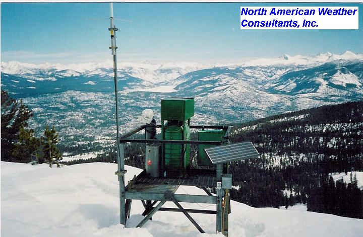 remote ground-based silver iodide cloud-seeding generator for mountaintop snowpack augmentation nawc