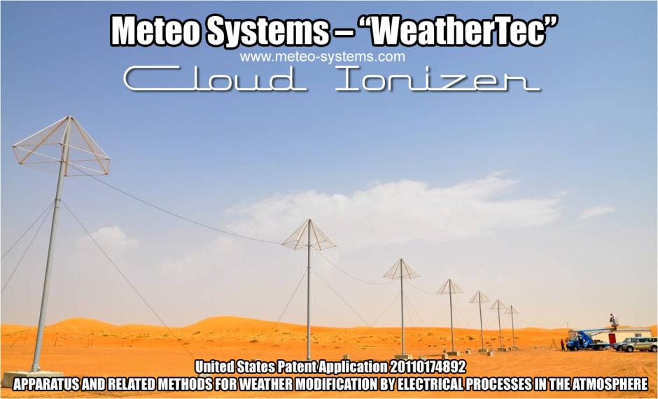 Weathertec cloud ionizer Abu Dhabi by Jim rezn8d Lee