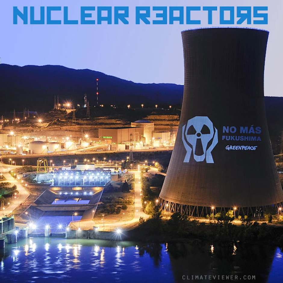 Nuclear Reactor Map – Power and Pollution Tracker