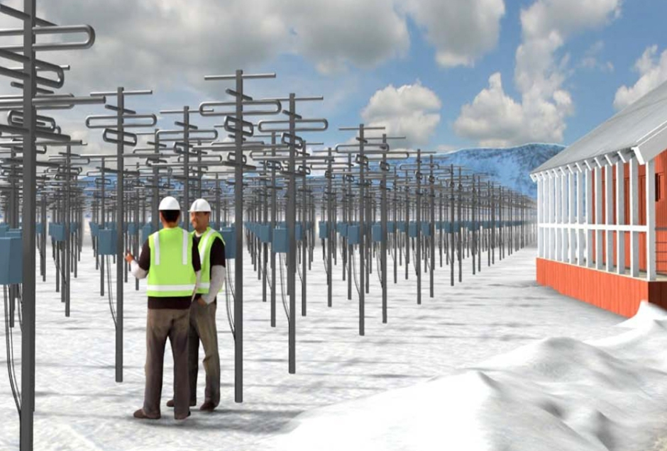 Proposed 100 Gigawatt EISCAT 3D in Tromso Norway by 2018