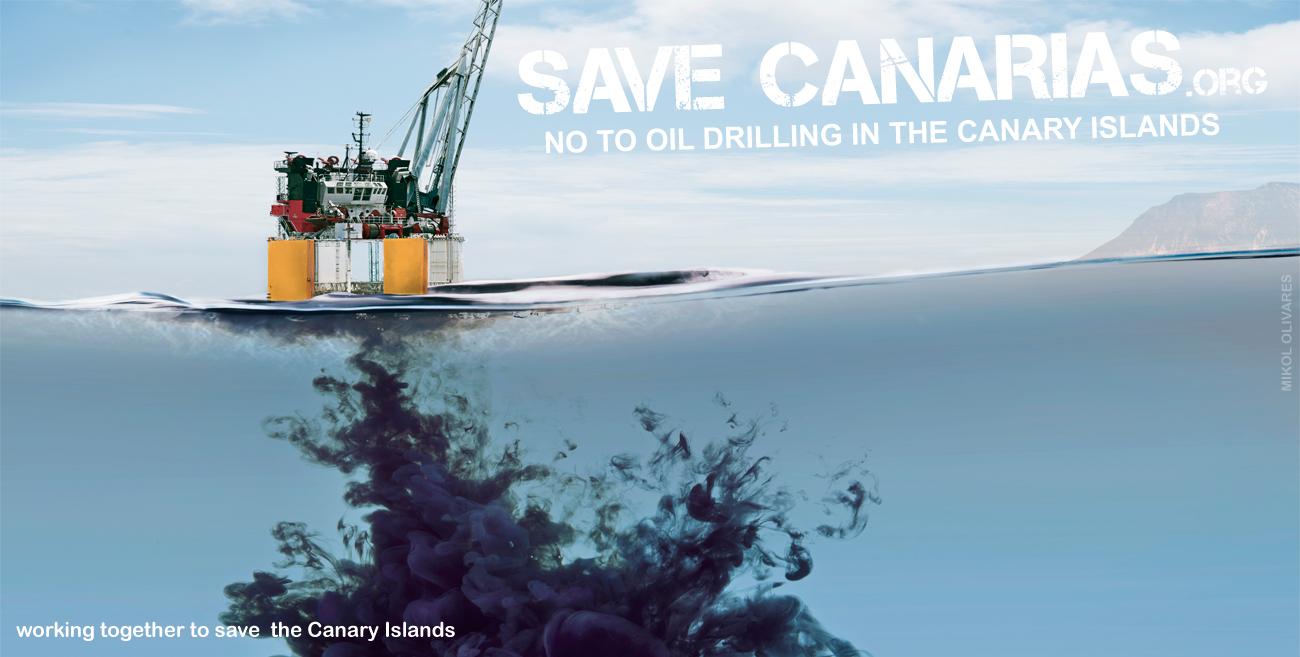 Save Canarias, prevent offshore drilling - savecanarias.org