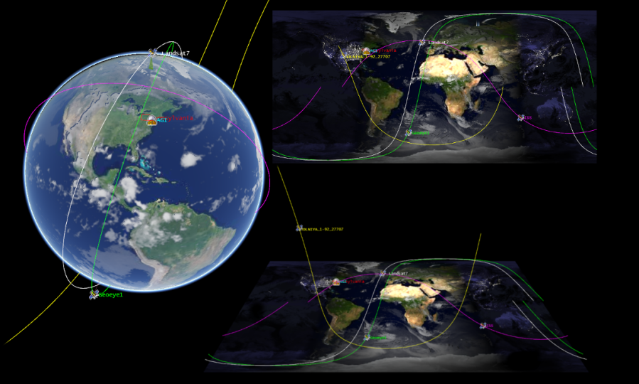 Cesium One Api Three Views