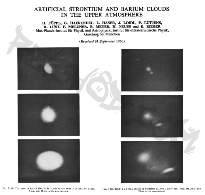 artificial-strontium-and-barium-clouds-in-the-upper-atmosphere