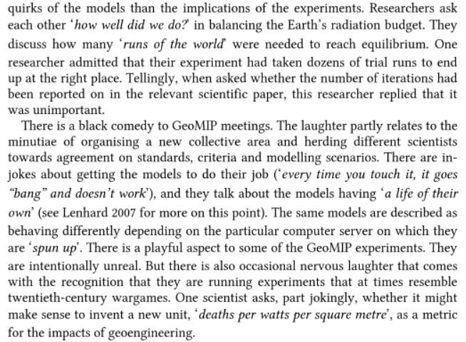 Experiment Earth: Responsible innovation in geoengineering By Jack Stilgoe