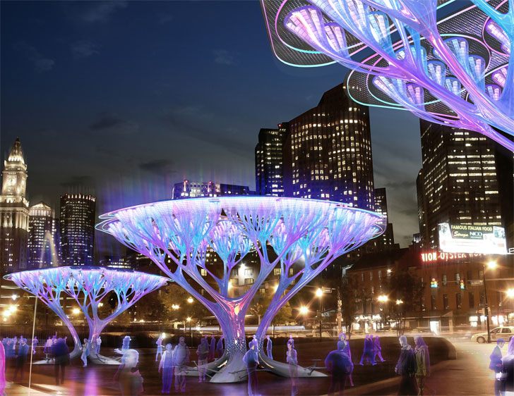 source: http://inhabitat.com/treepods-carbon-scrubbing-artificial-trees-for-boston-city-streets/
