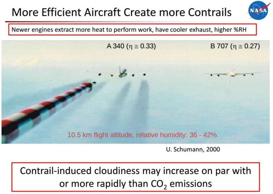 High-Bypass Contrails - Alternative-Fuel Effects on Contrails and Cruise EmiSSions
