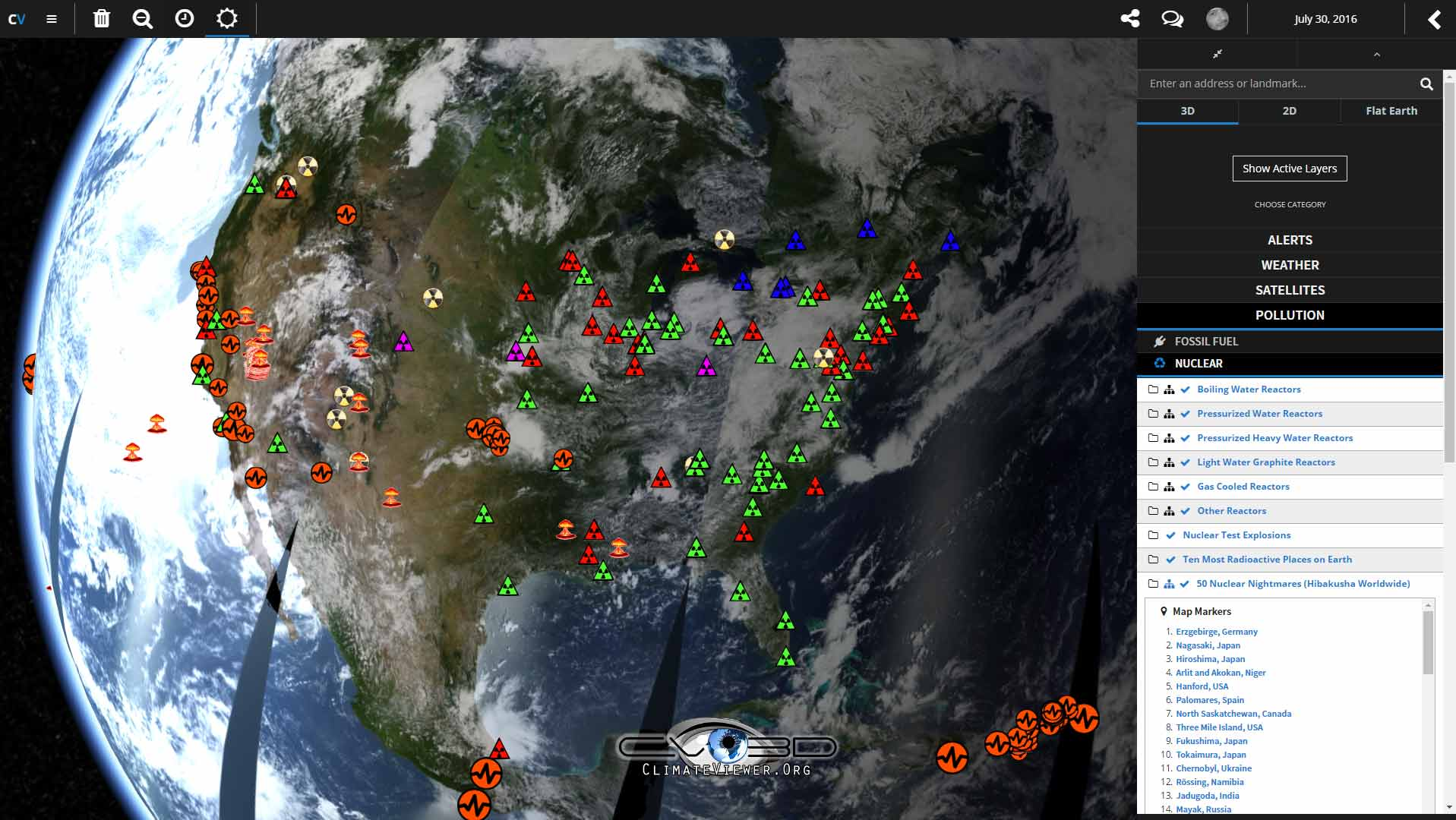 ClimateViewer 3D