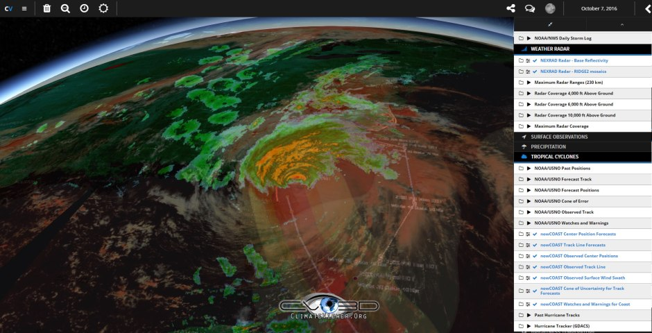 climateviewer-3d-hurricane-matthew-october-2016